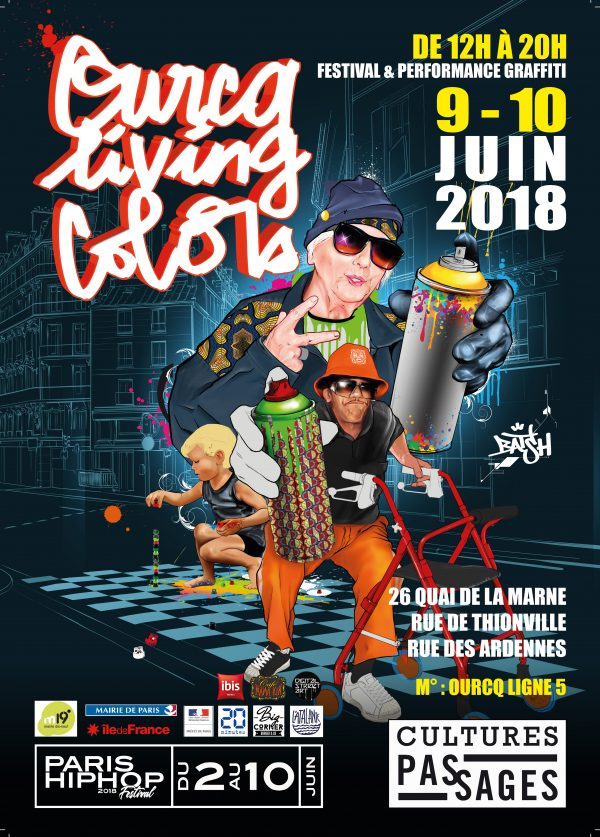 Ourcq Living Colors