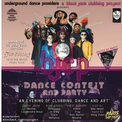 BJCP Dance Contest - Off Paris Hip Hop