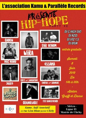 Hip-Hope Party #2 - Off Paris Hip Hop