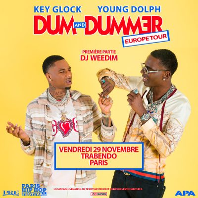 YOUNG DOLPH & KEY GLOCK - Trabendo, Vendredi 29 novembre 2019