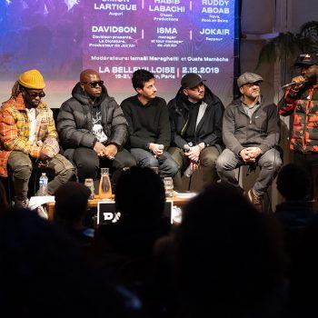 Conférence « Concerts, showcases, festivals : le business de la scène rap »